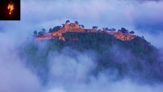 Ancient Castle Found Amongst The Clouds?