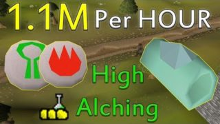 How to Make 1M+ GP Per Hour Using HIGH ALCH SPELL!! [Old School Runescape]