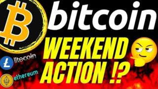 WEEKEND ACTION!? BITCOIN LITECOIN and ETHEREUM UPDATE!! Crypto TA prediction analysis, news, trading