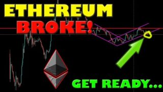 ETHEREUM BROKE HUGE SUPPORT ON ETH/BITCOIN RATIO… THIS IS NEXT!