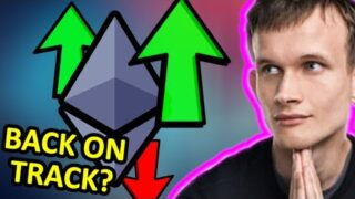 ETHEREUM TODAY!!!!! Ethereum Technical Analysis – ETH – Ethereum Price Prediction – [back on track?]
