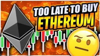 ETHEREUM SHOWING STRENGTH BEFORE PUMPING TO $2,500!!!! BITCOIN TO CRASH BEFORE PUMPING!!!??