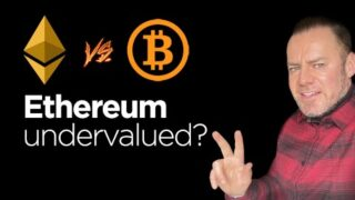 Ethereum Totally Undervalued! Stupid low at $611! We analyze price predictions relative to Bitcoin