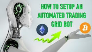 How to Setup A Bitsgap ETH BTC Automated Trading Grid Bot Strategy to Accumulate Bitcoin on Binance